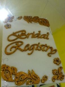 bridal registry landmark