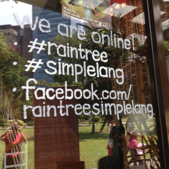 Simplé Lang is a Raintree restaurant.